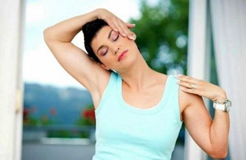 Эффективные упражнения для шейных позвонков
