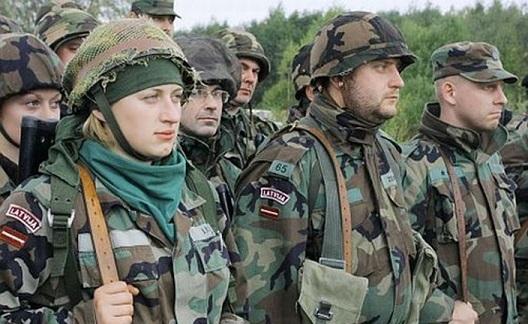 ВЛатвии создадут новые батальоны гражданского ополчения