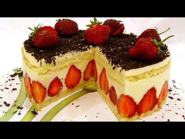 Клубничный торт «fraisier». Этот рецепт стоит денег