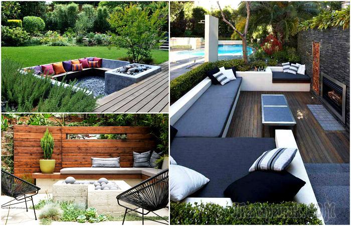 18 блестящих идей по обустройству летнего патио, которое станет настоящим украшением садового участка