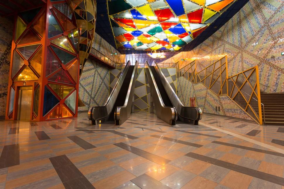 MetroStations46 17 самых волшебных станций метро со всего мира