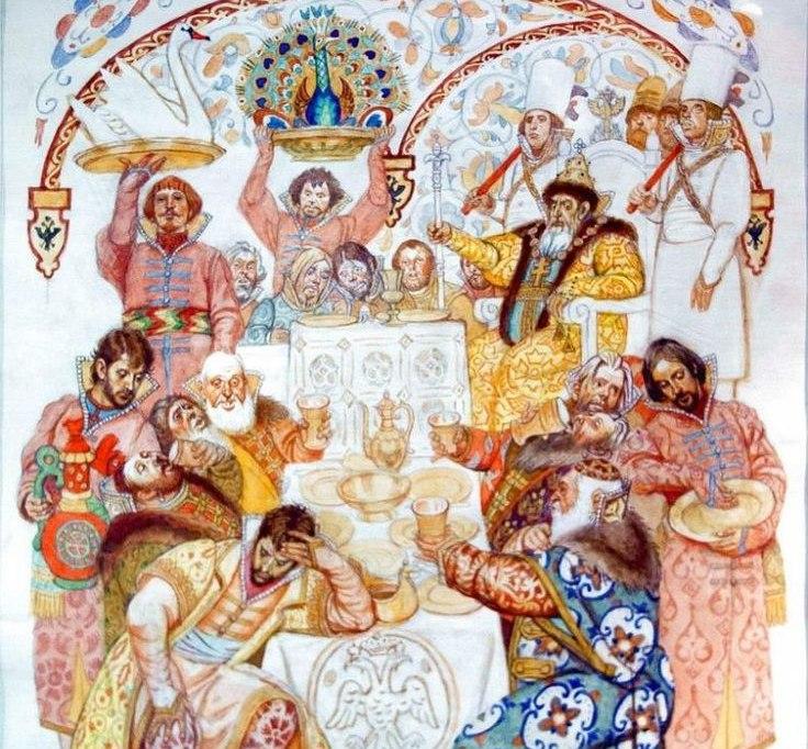 """""""Я не в состоянии выпить больше"""" - иностранные послы на пирах у русских государей XV-XVI веков"""