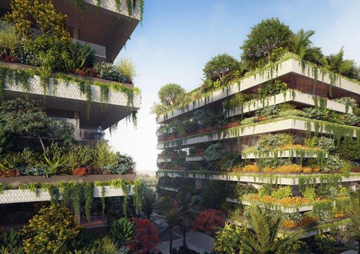 Вертикальные «лесные» жилые комплексы в Египте