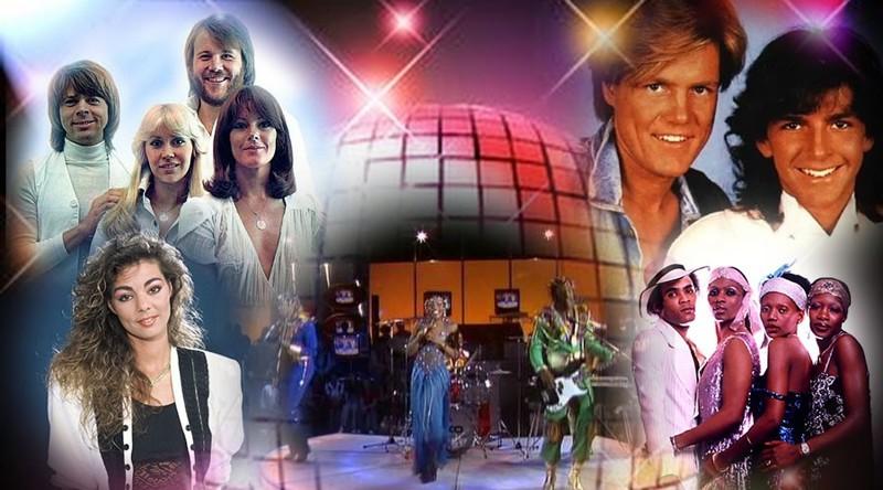 Звёзды диско 70-х – 80-х