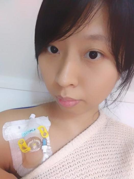 Чен во время лечения.