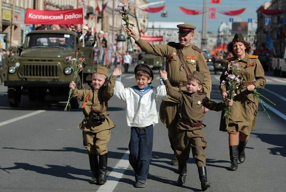 #РодинаГероев отметила самый патриотичный праздник России