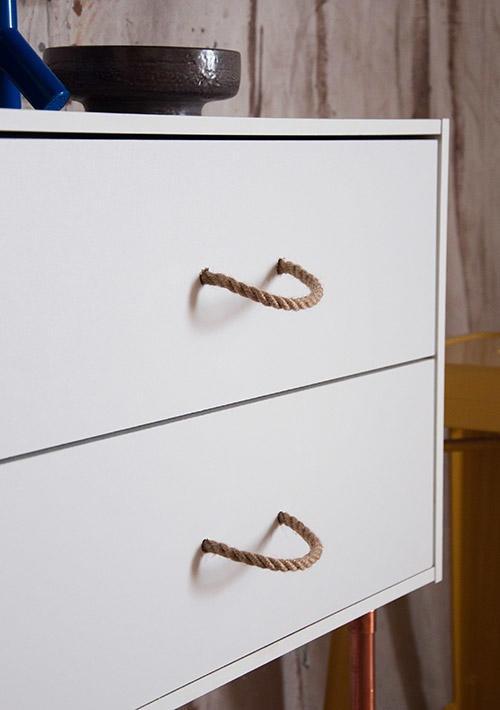 Мебельные ручки из веревок