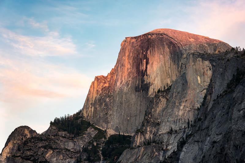 Хаф-Доум, Йосемити, Калифорния  Северная Америка, путешествие, фотография