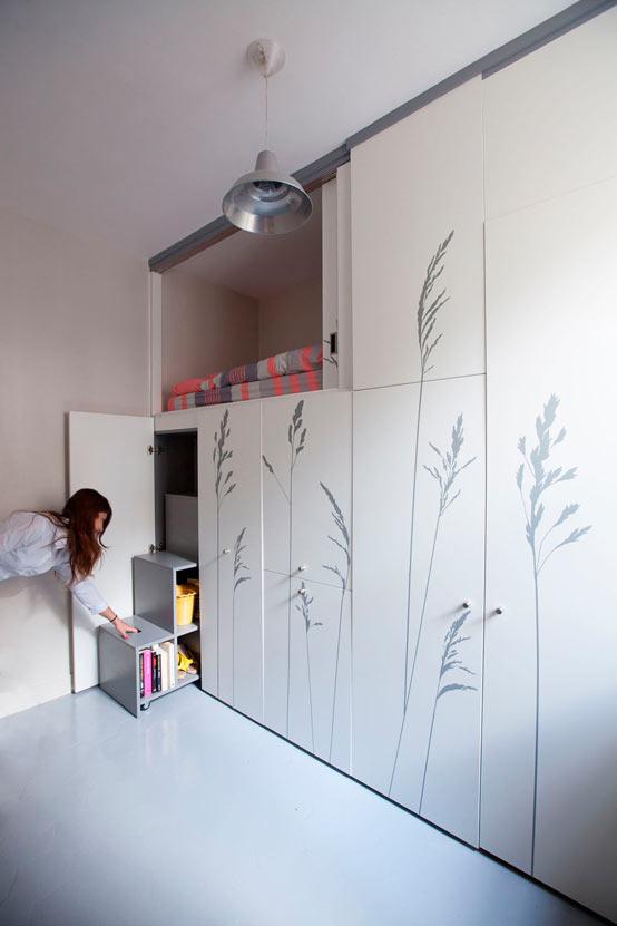 Крошечные апартаменты в Париже
