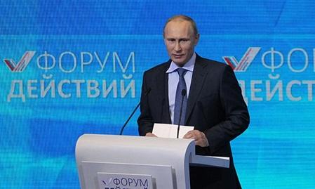 «Форума Действий» ОНФ: Путин пообещал как можно дольше тянуть с отменой ответных мер на санкции ЕС