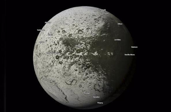 В картах Google появилась возможность путешествовать по Солнечной системе