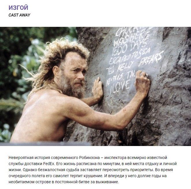 ТОП-10 фильмов о выживании