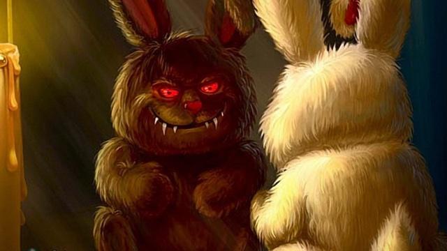 Кролик-зомби