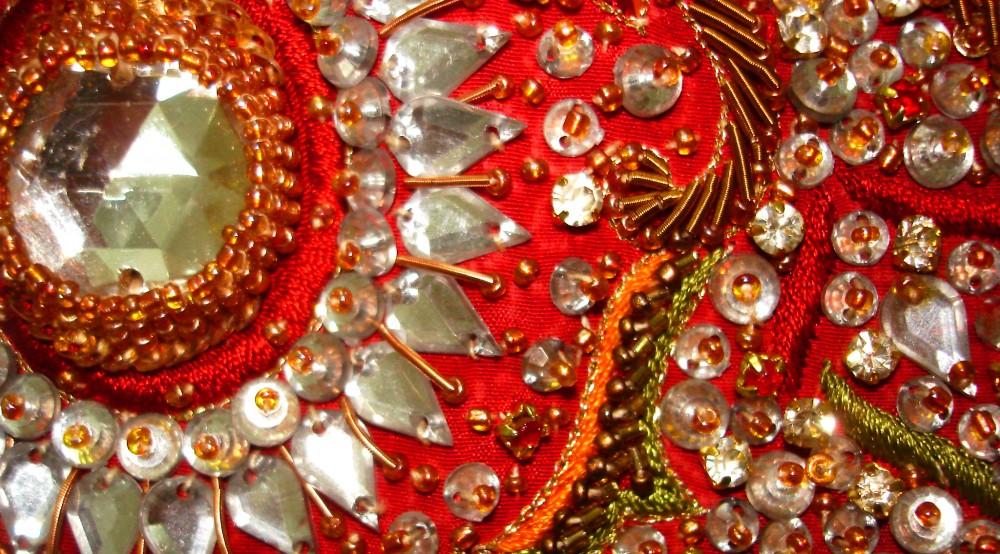 Бисер вышивка индия