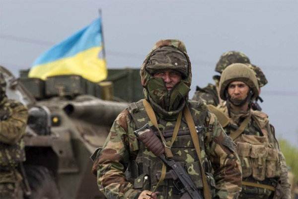 Неподалеку от границы с Крым…