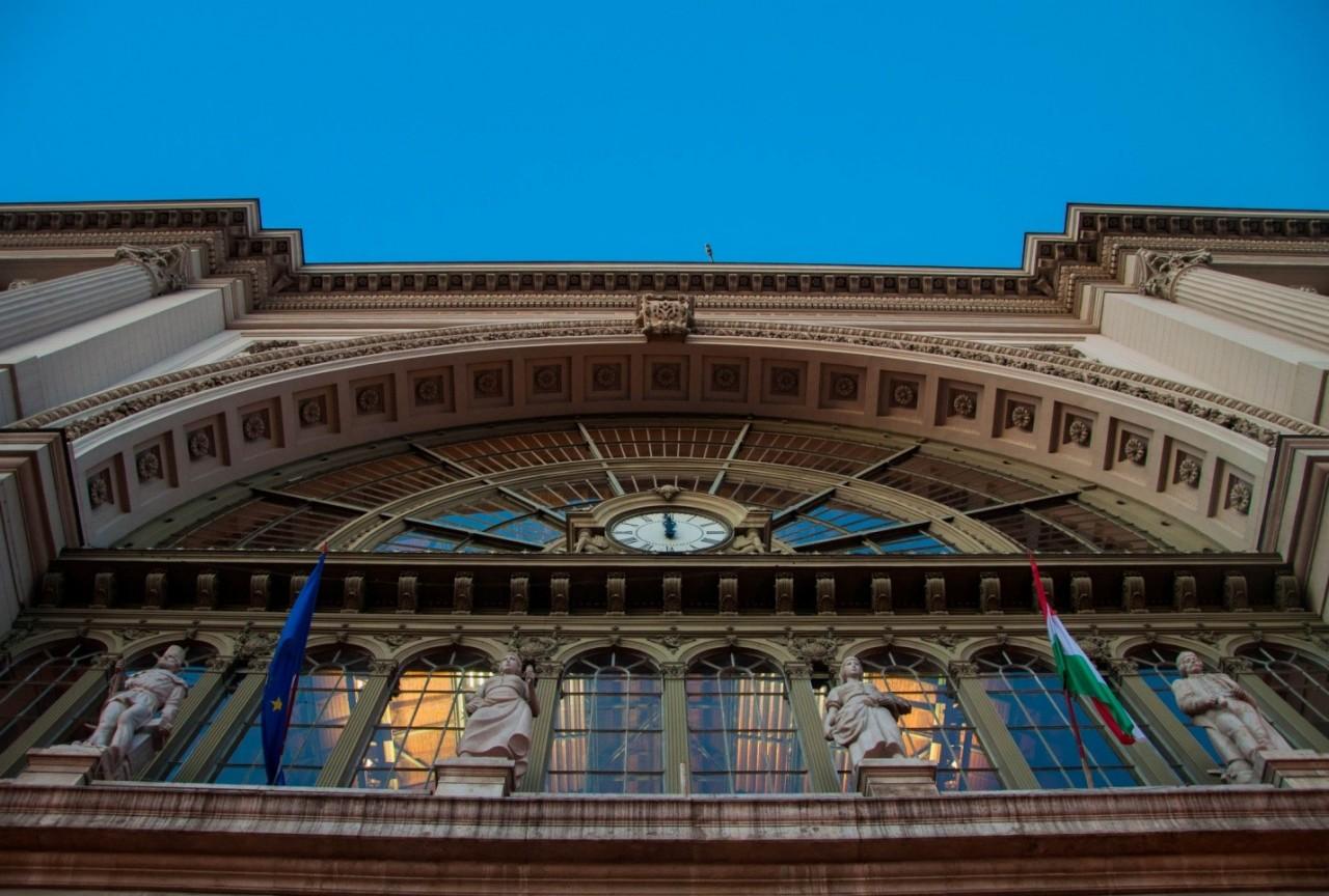 Вокзал Келети в Будапеште