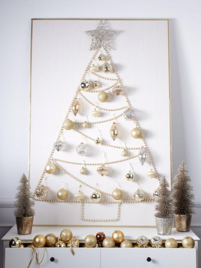 Необычный вариант новогодней елки