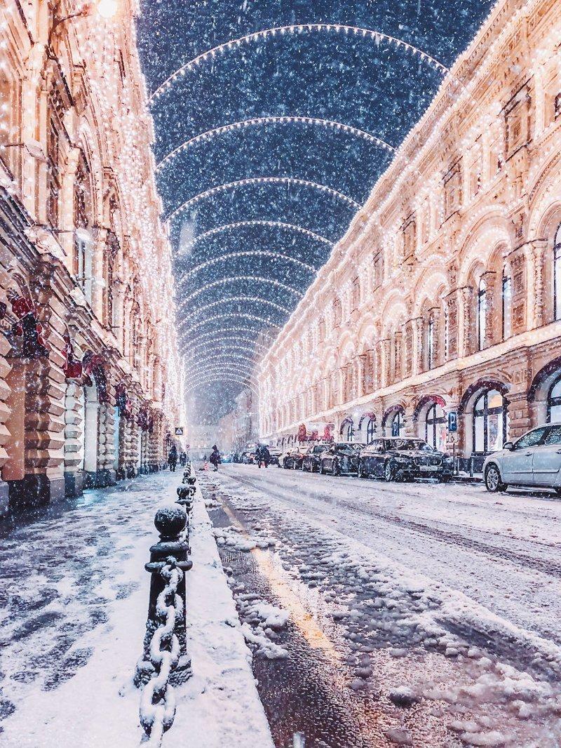 13. достопримечательность, зима, кристина макеева, москва, сказка, снег, фотография, фотомир