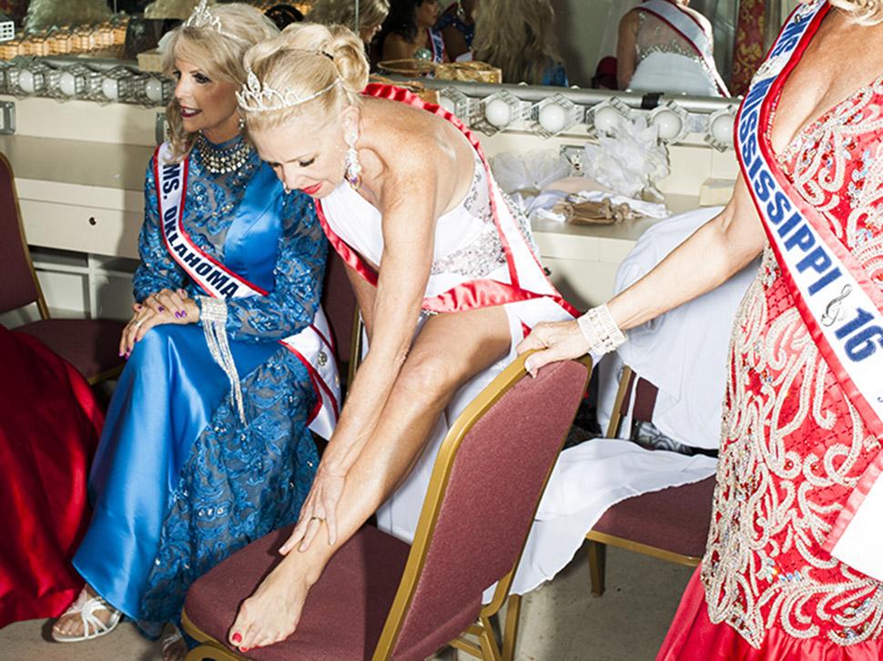 За кулисами конкурса красоты «Мисс Возрастная Америка»