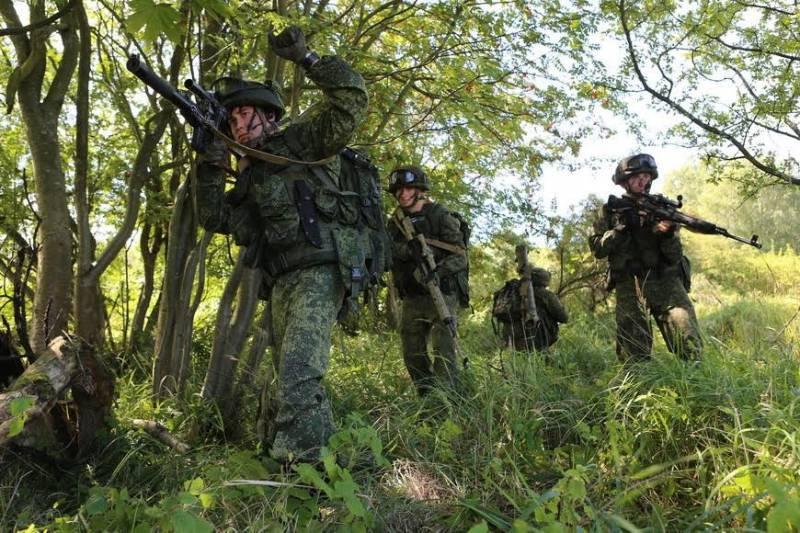 Полевой выход морских пехотинцев