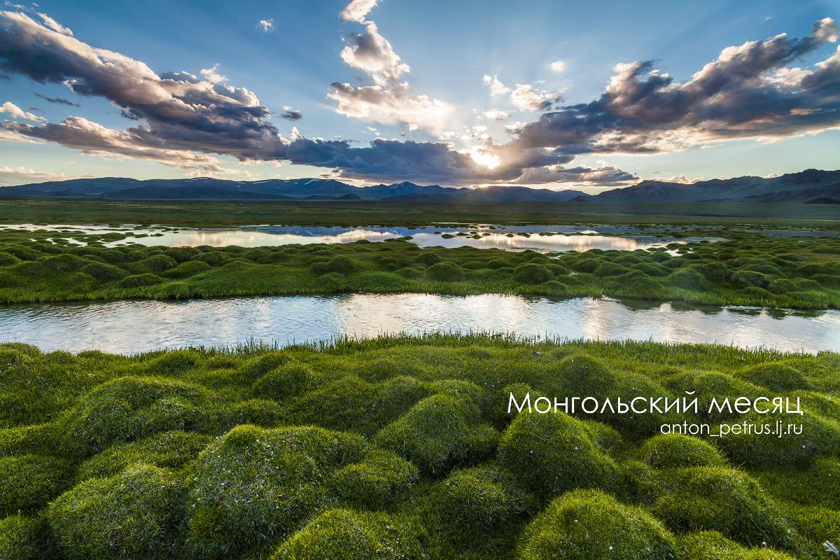 Монгольский месяц