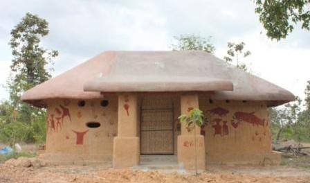 Как построить саманный дом с…