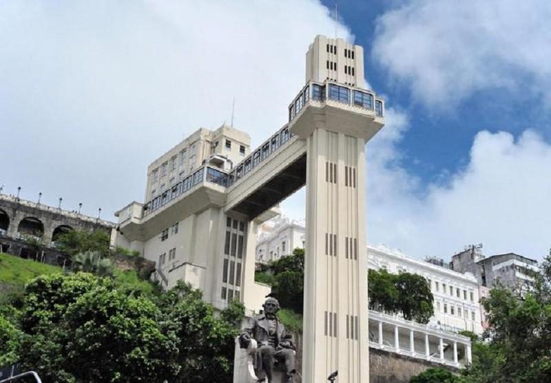 2. Elevador Lacerda, Салвадор история, лифт, мир, необычно, путешествия, факты