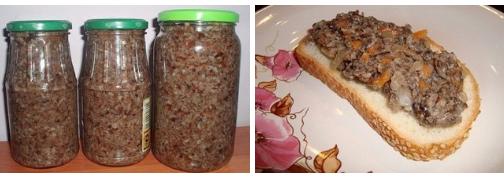 Готовим невероятно вкусную грибную икру. Зимой под картошечку ммм….!