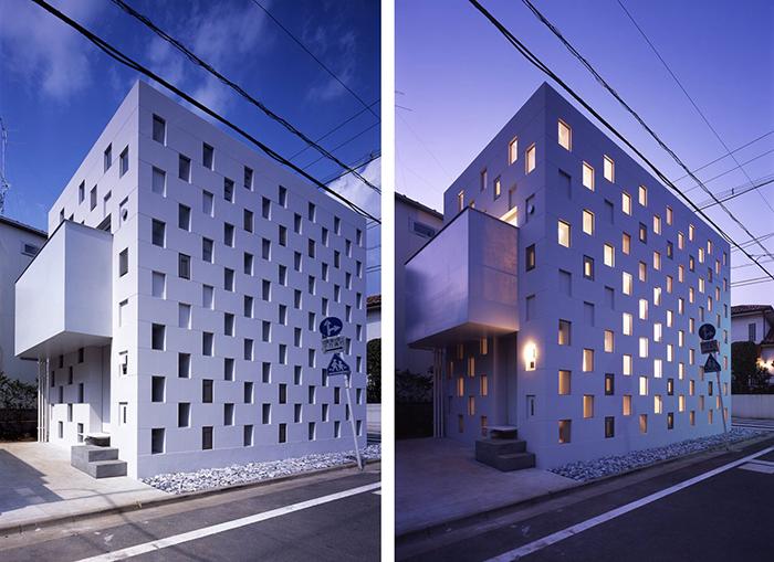Жилой комплекс Cellbrick в Токио