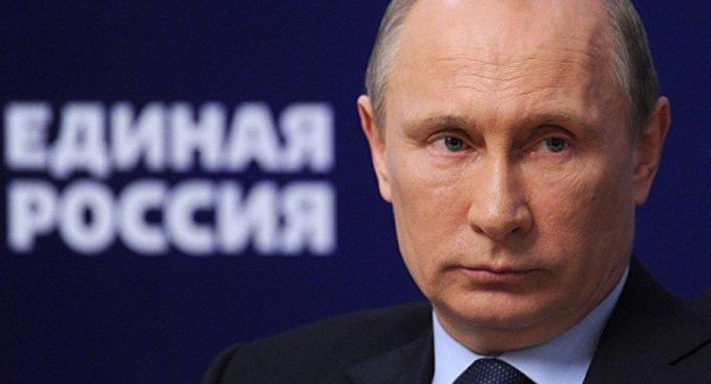«Трудно и тяжело, но люди проголосовали». Путин поздравил «Единую Россию» с победой