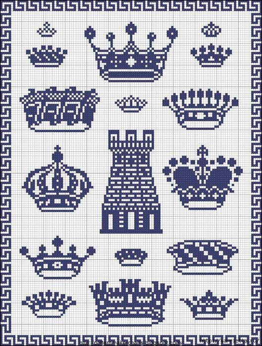 Винтажная вышивка. Схемы и идеи для вдохновения (80) (529x700, 406Kb)