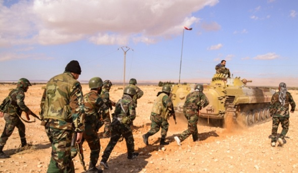 SANA: Сирийские войска успешно наступают впровинции Дамаск