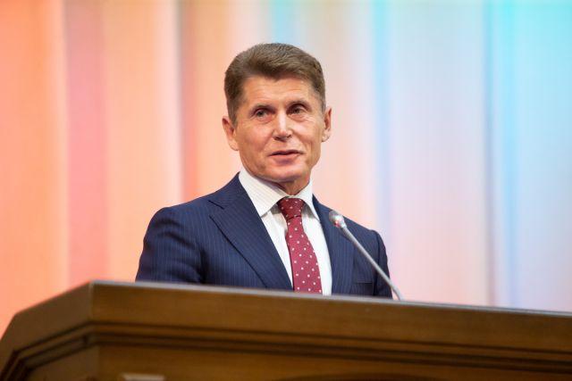 На повторных выборах главы Приморья победу одержал Олег Кожемяко