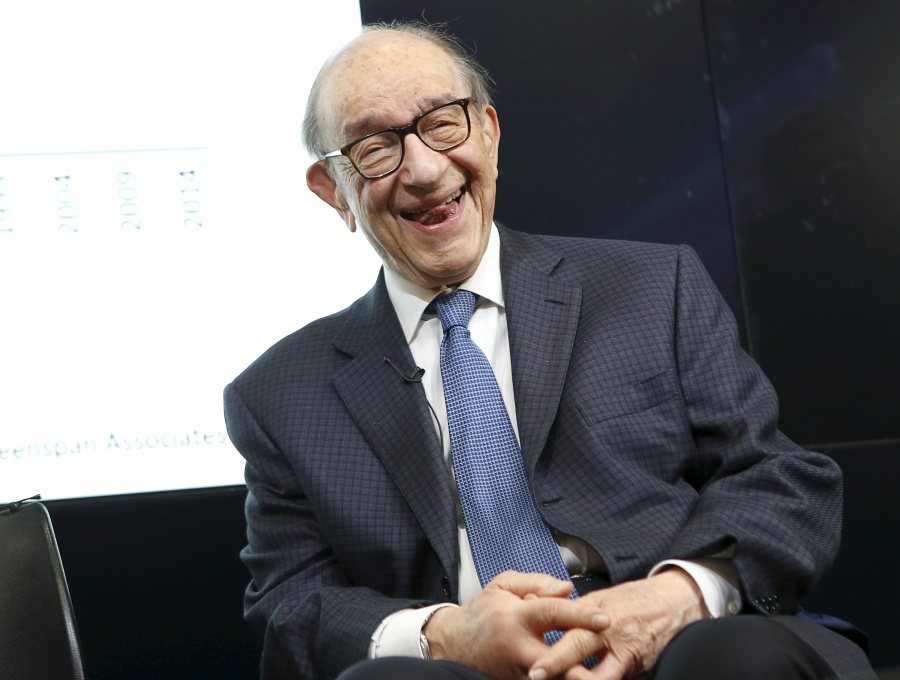 Алан Гринспен прозревает недоброе