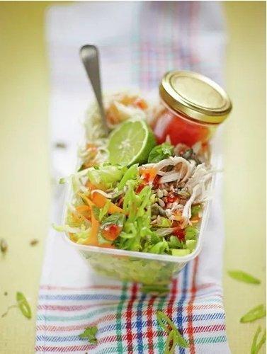 Салат с грудкой курицы — Рец…