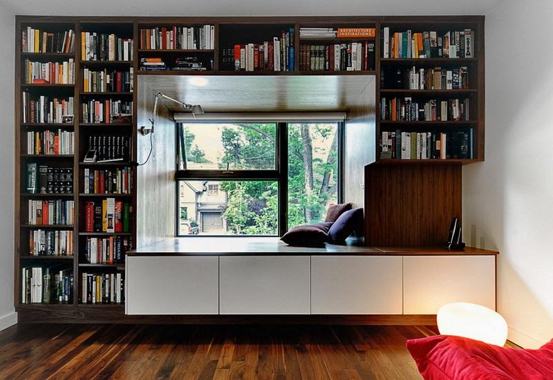 Шкафы вокруг окна: 10 восхитительных идей для вашего интерьера