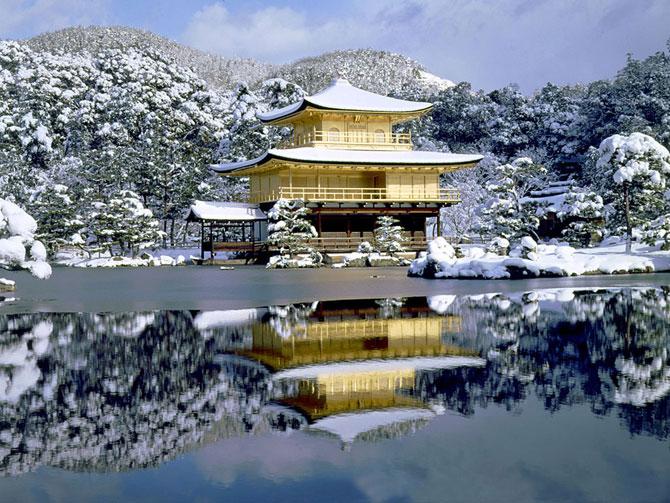 Великолепный Золотой павильон (Япония)