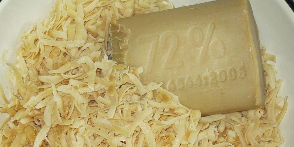 Стиральный порошок из хозяйственного мыла