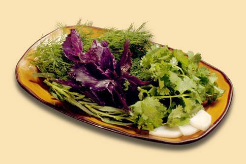 Полезные свойства огородной зелени