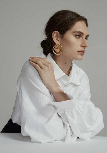 Белые воротнички с 9 до 6, или С чем носить белую блузку