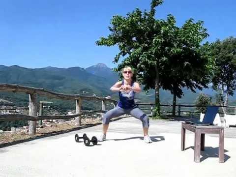 Как похудеть за 4 минуты в день (Табата комплекс №1)