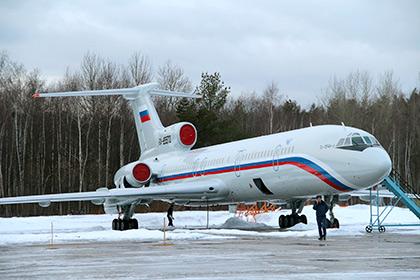 СМИ узнали о приостановке полетов Ту-154 Минобороны и МВД