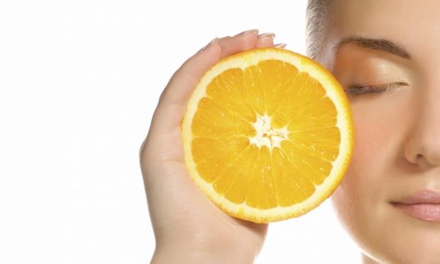 Маска от морщин с апельсином