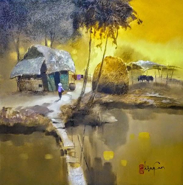художник Dang Van Can - 08
