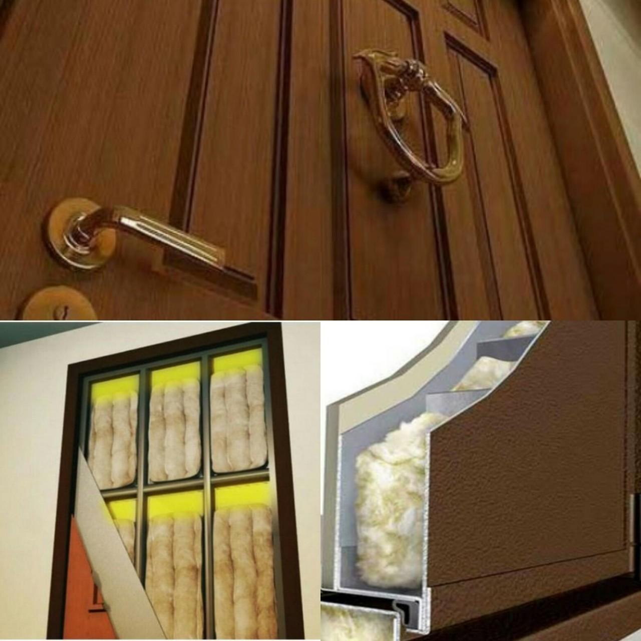 надежная входная дверь шумоизоляцией