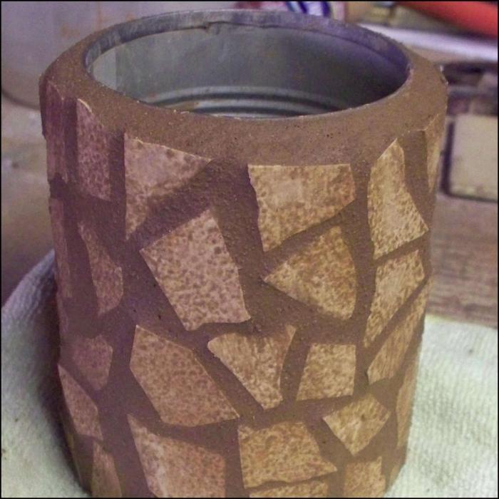 Садовая ваза своими руками мастер класс 3
