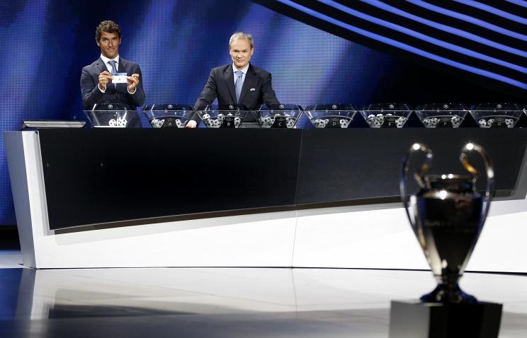 Чемпион России по футболу может оказаться в 1-й корзине во время жеребьевки Лиги чемпионов