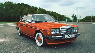Mercedes-Benz w123 / Лучшая тачка для таксиста