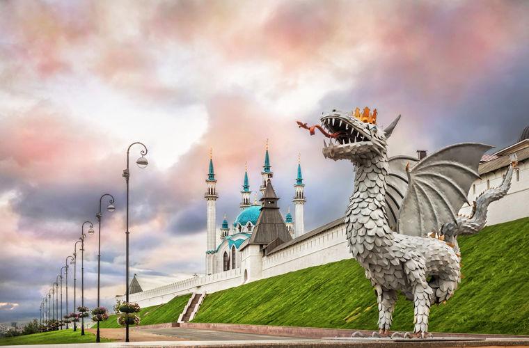 Кремль и не один . Все они  гордость России