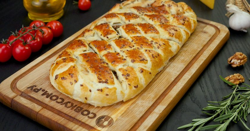 Пирог с грибами и орехами: лучше, чем мясная запеканка